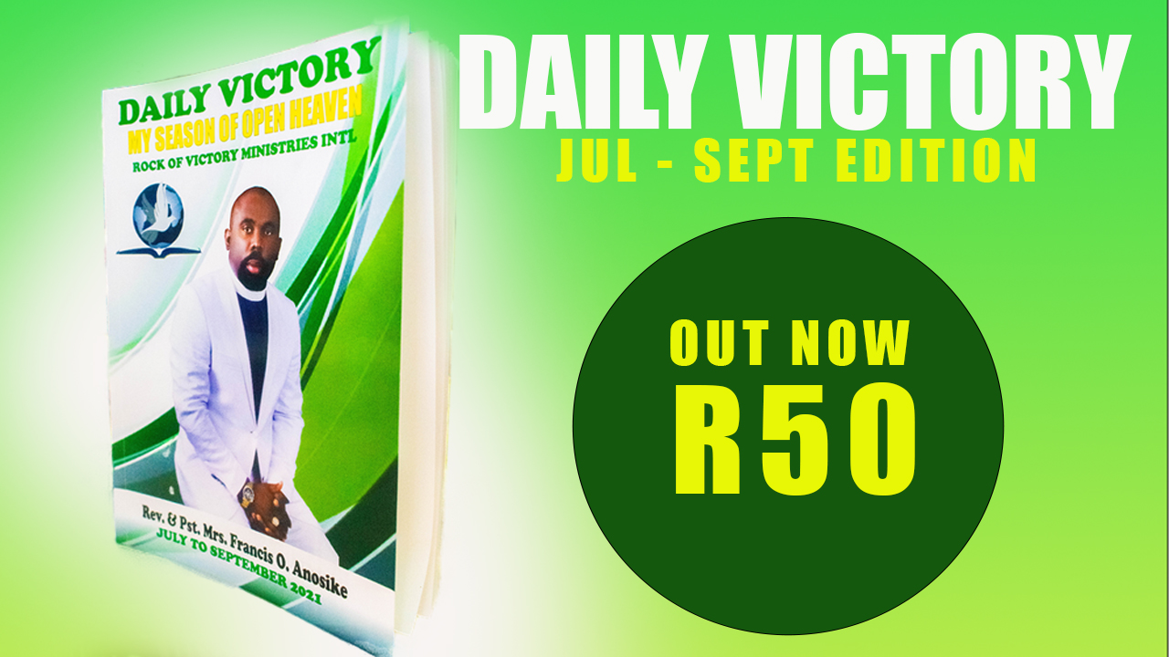DAILY VICTORY (July to September edition) OUT NOW