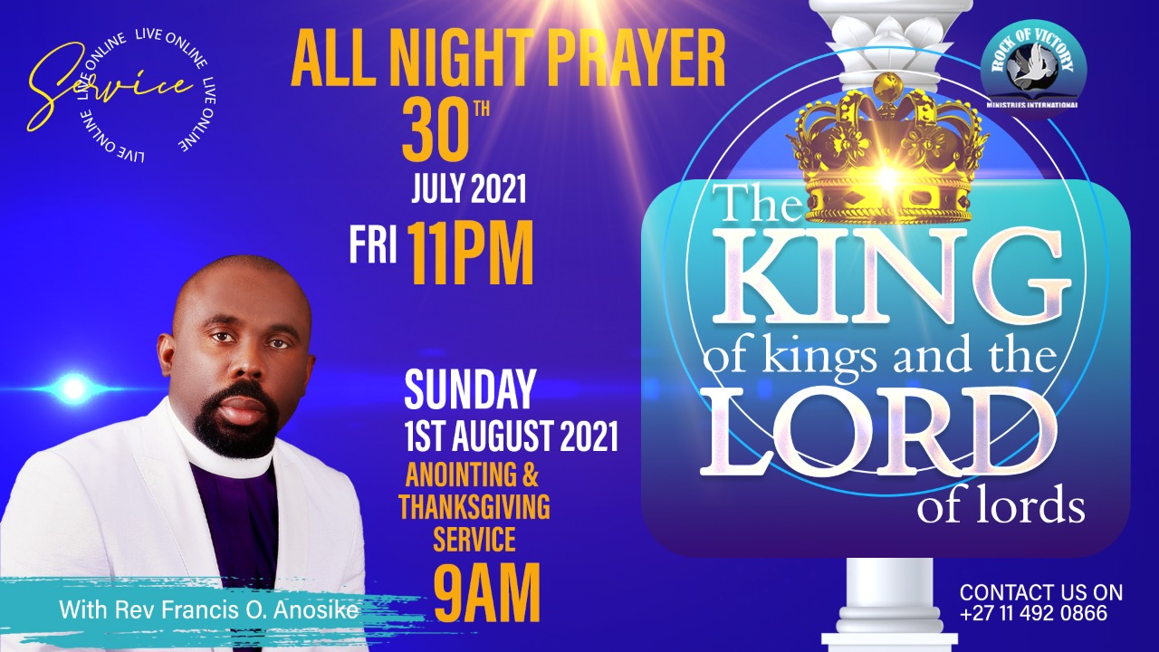 THE KING OF KINGS AND THE LORD OF LORDS